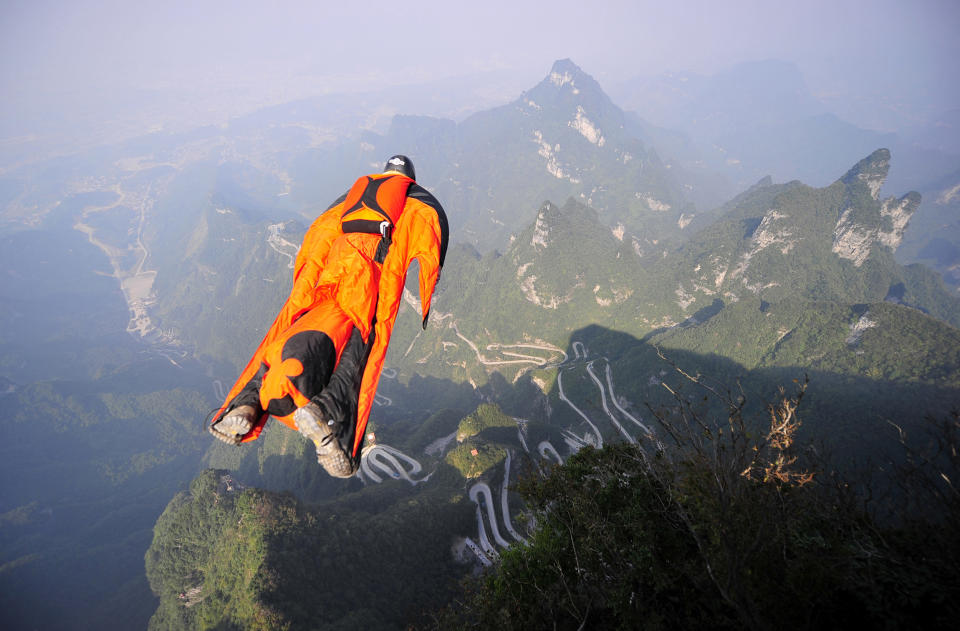 Wingsuit flying (or wingsuiting) is the sport of flying through the air using a wingsuit which adds surface area to the human body to enable a significant increase in lift. A wingsuit flight normally ends by deploying a parachute, and so a wingsuit can be flown from any point that provides sufficient altitude for flight and parachute deployment — normally a skydiving drop aircraft, or BASE-jump exit point such as a tall cliff or a safe mountain top. It is not the wingsuit that is the most expensive component of the sport and costs about $2,500. What really eats up your money is the many costs associated with getting into the air and back on solid ground safely. One has to take skydiving lessons, purchase gear, rent a plane, pay a pilot and also pay insurance. Recreational wingsuiting can cost up to $30,000 a year, without including insurance costs.