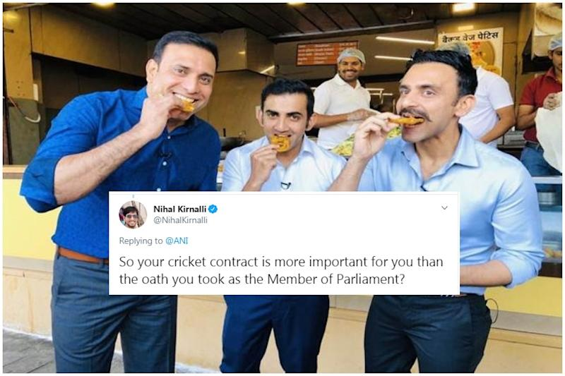 Gambhir Says He Was 'Contractually Bound' to Miss Delhi Pollution Meeting, Gets Trolled Yet Again