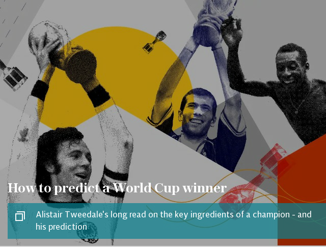How to predict a World Cup winner