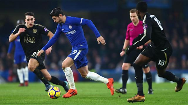 Leicester City forced Chelsea out of their rhythm but could only claim a draw at Stamford Bridge after Ben Chilwell's dismissal.