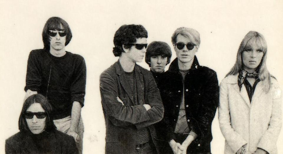 The Velvet Underground, Nico et Andy Warhol (Flickr / thatspep)