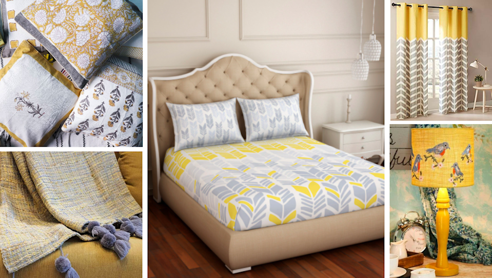Home textiles in Pantone's Colours of the Year