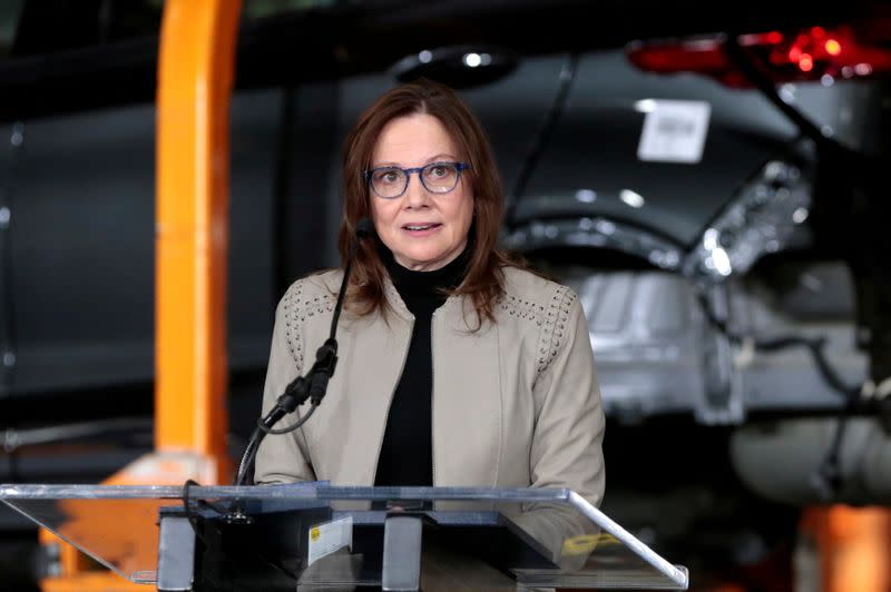 GM CEO moves to remake U.S. automaker for EV future