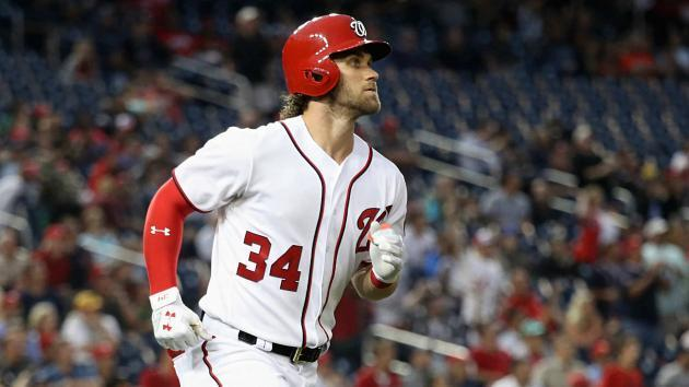 Washington Nationals star Bryce Harper suffers ugly-looking knee injury