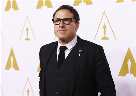 David O. Russell arrives at the 86th Academy Awards nominees luncheon in Beverly Hills