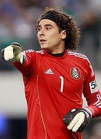Guillermo Ochoa, Mexico's starting goalkeeper, was one of the players to test positive for clenbuterol
