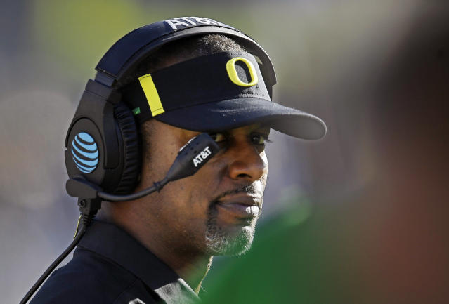 Willie Taggart's departure from Oregon provided a life lesson for an Oregon state official. (AP)