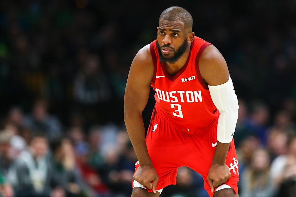 Chris Paul will now likely start next season playing for the Oklahoma City Thunder. (Getty)