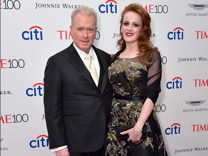 Robert and Rebekah Mercer