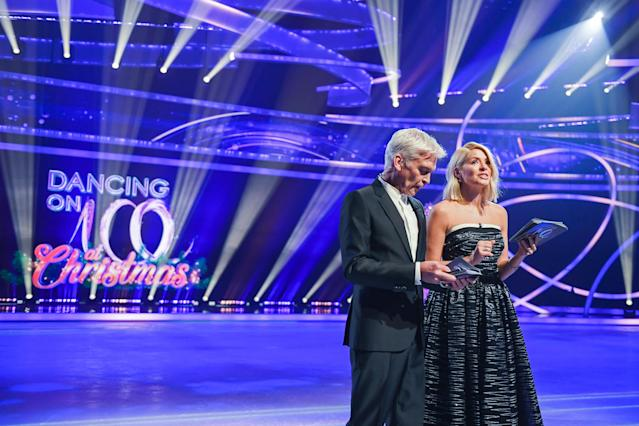 Phillip Schofield and Holly Willoughby during the Dancing On Ice 2019 photocall (Stuart C. Wilson/Getty Images)