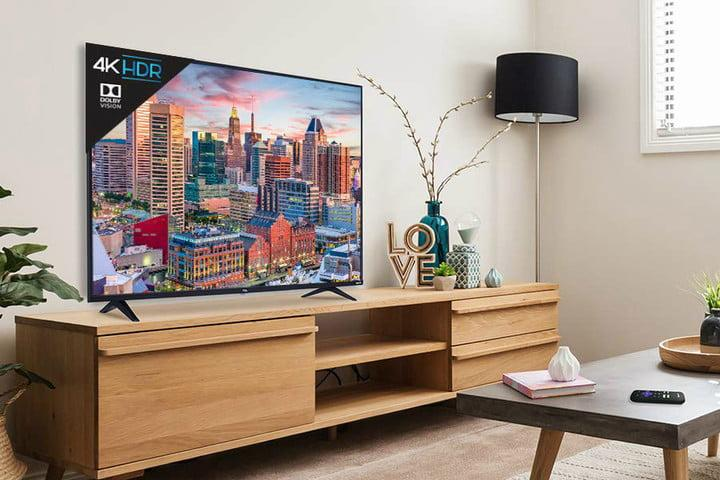 Save up to $320 off these TCL 55-inch 4K Roku Smart LED TVs