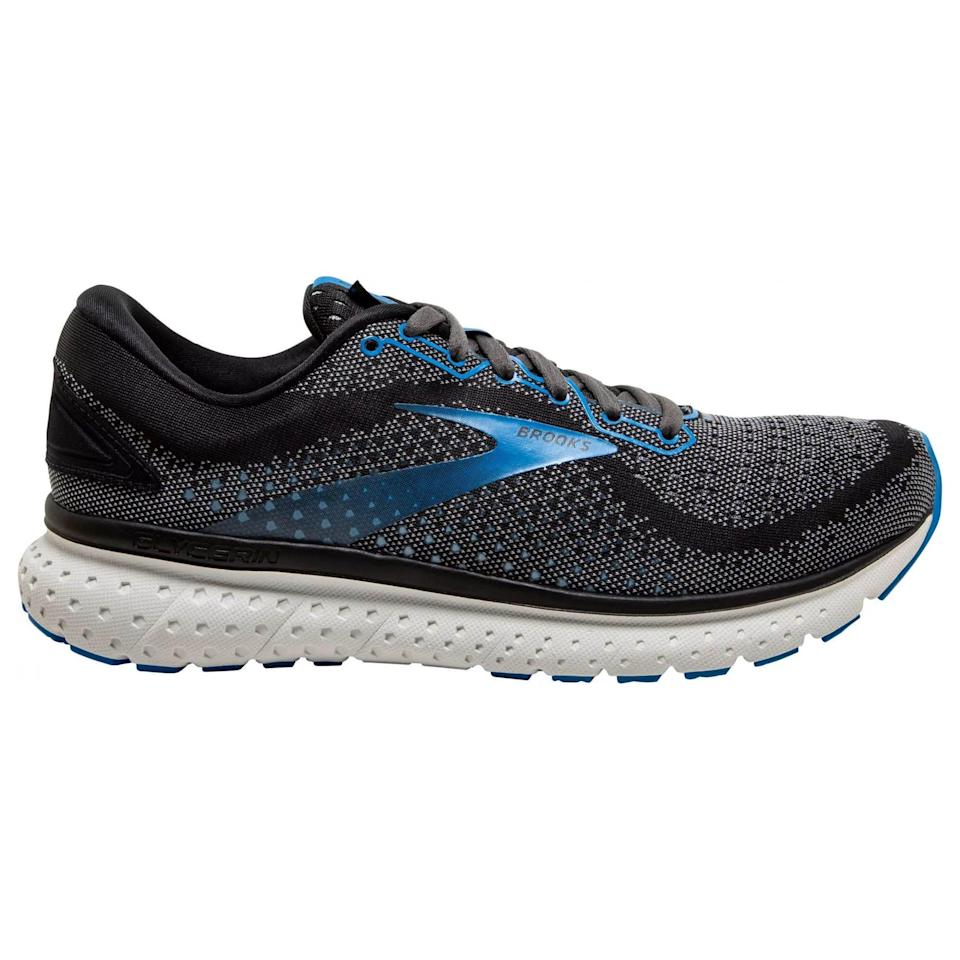"""<p><strong>Brooks</strong></p><p>amazon.com</p><p><strong>$129.95</strong></p><p><a href=""""https://www.amazon.com/dp/B07V4N9D45?tag=syn-yahoo-20&ascsubtag=%5Bartid%7C2141.g.36533538%5Bsrc%7Cyahoo-us"""" rel=""""nofollow noopener"""" target=""""_blank"""" data-ylk=""""slk:Shop Now"""" class=""""link rapid-noclick-resp"""">Shop Now</a></p><p>Another fan favorite, the Brooks Glycerin provides cushioning without feeling like you are four inches off the ground. Plus, the cushioning tends to be a bit stiffer and more responsive, making it a great everyday trainer for everything from long runs to speed work to recovery. </p><p><a class=""""link rapid-noclick-resp"""" href=""""https://www.amazon.com/Brooks-Womens-Glycerin-Running-Shoe/dp/B07V3FPDM8/ref=sr_1_5?dchild=1&keywords=brooks+glycerin&qid=1621604098&sr=8-5&tag=syn-yahoo-20&ascsubtag=%5Bartid%7C2141.g.36533538%5Bsrc%7Cyahoo-us"""" rel=""""nofollow noopener"""" target=""""_blank"""" data-ylk=""""slk:Buy Women's"""">Buy Women's</a></p>"""