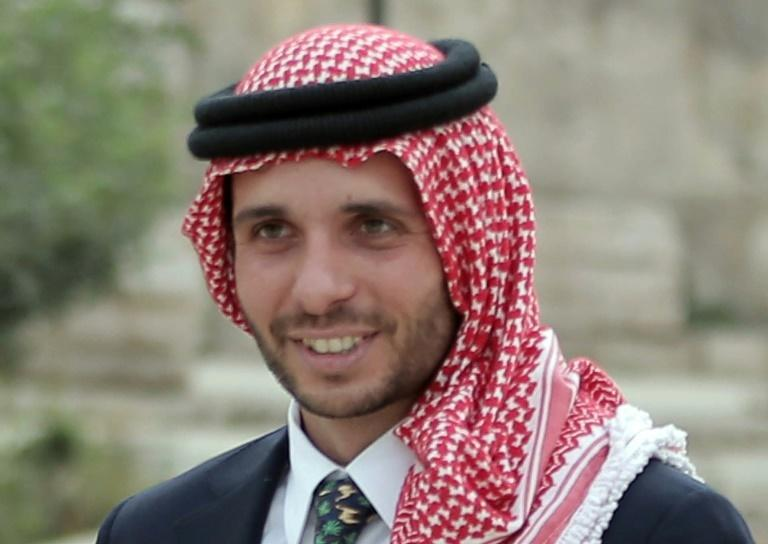 Jordan's Prince Hamzah bin Hussein shown in a file picture from 2015