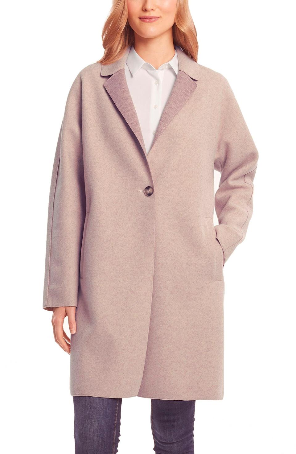 <p><span>Bernardo Sweater Coat</span> ($50, originally $149)</p>