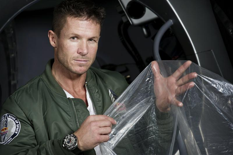 Felix is a seasoned BASE jumper and extreme skydiver. (Red Bull Stratos)