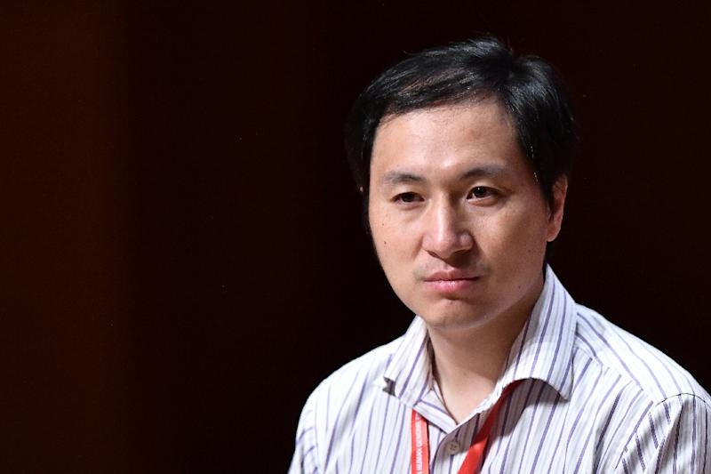 Chinese scientist He Jiankui's announcement prompted wide condemnation across the world (AFP Photo/Anthony WALLACE)