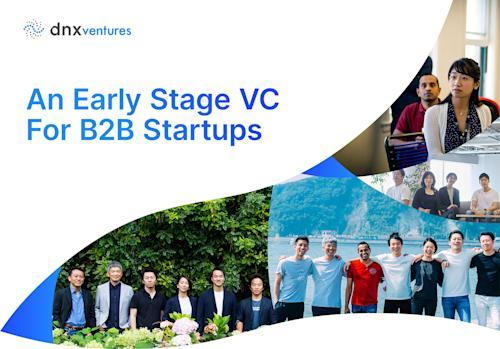 A graphic featuring DNX Ventures' team members