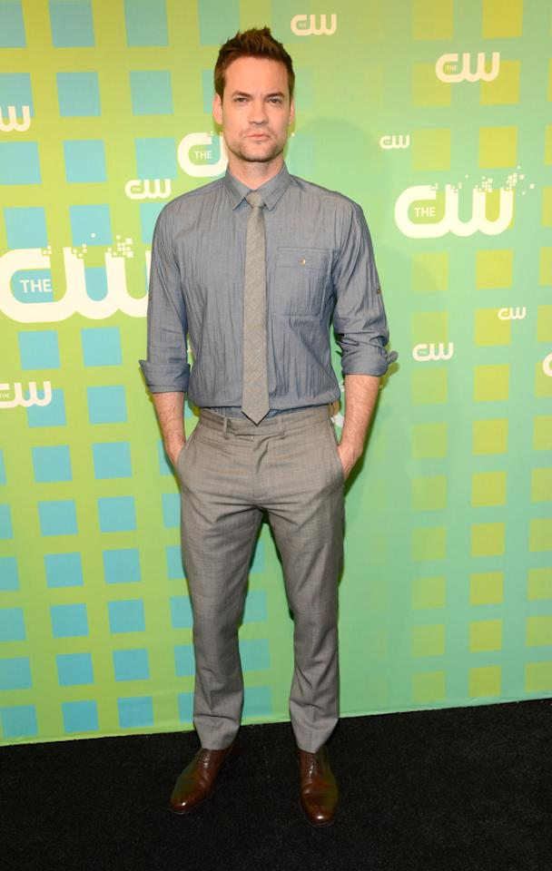 "Shane West (""Nikita"") attends The CW's 2012 Upfronts on May 17, 2012 in New York City."