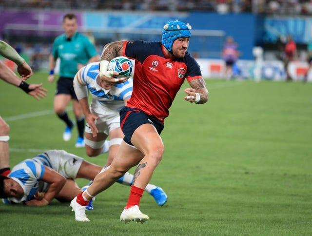 Jack Nowell's last England appearance was against Argentina at the 2019 World Cup