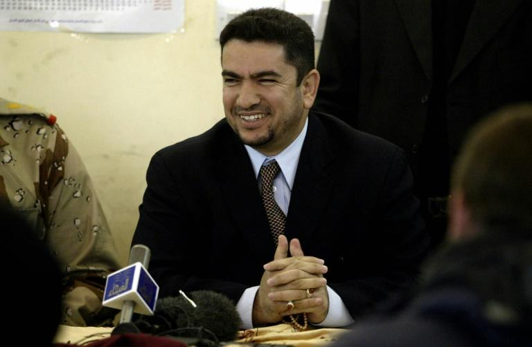A photo from 2005 of Adnan Zurfi, former governor of Najaf