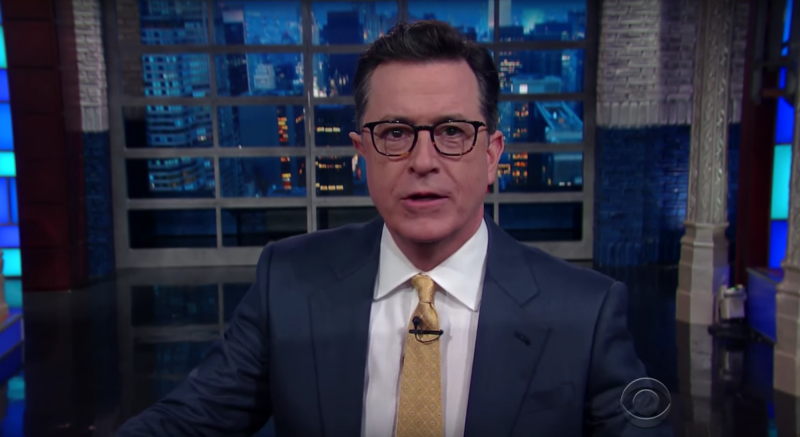 Stephen Colbert's Colbert Report alter ego returns for Obama's last day
