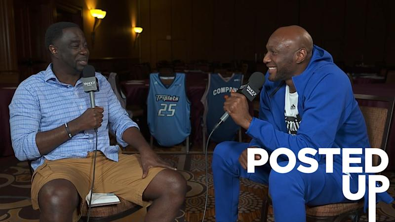 Two-time NBA champion, former Los Angeles Laker and Clipper Lamar Odom joins 'Posted Up with Chris Haynes' for a conversation about addiction, recovery and basketball. (Yahoo Sports)