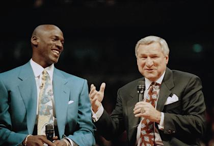 Dean Smith had an impact on the lives of players well beyond stars like Michael Jordan. (AP)