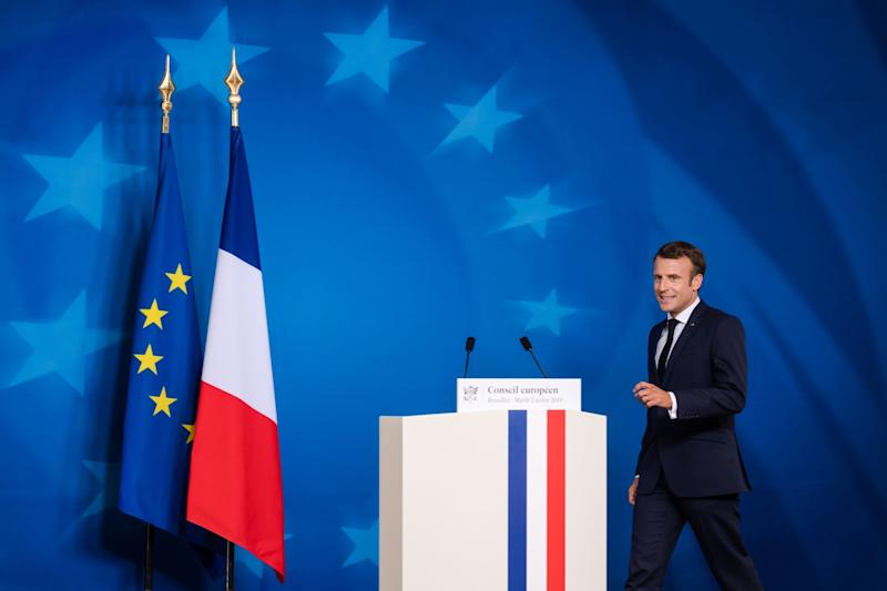 """(Bloomberg) -- French President Emmanuel Macron stuck to his demand for deep reforms in the European Union before it accepts new members, telling biggest candidate Serbia that premature entry would benefit no one.Leaders across the Balkans have expressed frustration at what they say is stalling by the EU over when they can become part of the world's biggest trading bloc. While most member are wary of taking in new members, Balkan leaders are struggling to explain the delay to their 18 million citizens who see entry as a guarantee toward higher pay and less corruption.Concerns flared two weeks ago when, after a marathon session of wrangling over who will take the EU's top jobs, Macron said there would be no further enlargement unless """"deep reform"""" of the EU happens first. During a visit to Serbia Monday, where he met President Aleksandar Vucic, Macron again said that """"Serbia is destined to join"""" but that expanding the bloc without changing the way it makes decisions would cause problems for everyone.""""Entering too quickly wouldn't be good for Serbia, nor would it be for the EU,"""" Macron said, adding that even setting an entry timetable could backfire. """"We must not lock ourselves in to a calendar with a date, because if we fail it would be seen as a failure.""""The last country to become an EU member was Croatia, in 2013. Outgoing Commission President Jean-Claude Juncker said the earliest that any of the six remaining aspirants would be able to join is around 2025.For Serbia, the biggest hurdle is resolving relations with Kosovo. Backed by Russia and China, it refuses to recognize its neighbor's unilaterally declared independence since 2008 and has blocked its efforts to join the United Nations and other international organizations.EU-mediated talks between Serbia and Kosovo all but collapsed last year when the latter imposed punitive 100% tax on products from Serbia and from Bosnia-Herzegovina, retaliating for Serb lobbying against its international recognition. Kosovo ha"""