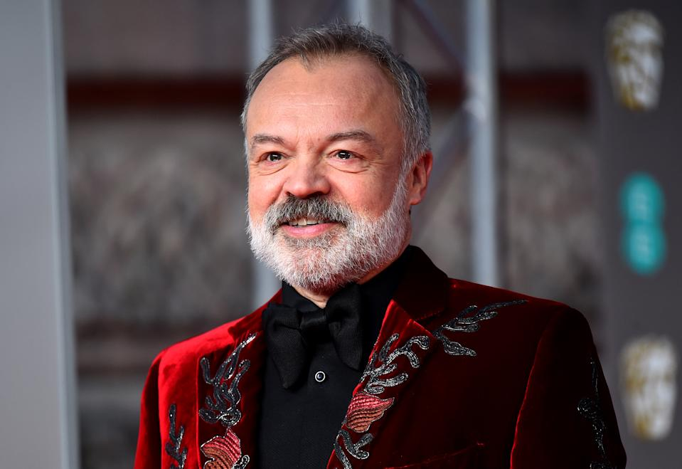 Graham Norton attending the 73rd British Academy Film Awards held at the Royal Albert Hall, London.