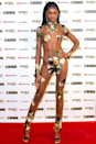 <p>Model Leomie Anderson was basically just wearing leaves on mesh at the 2020 MOBO Awards.</p>