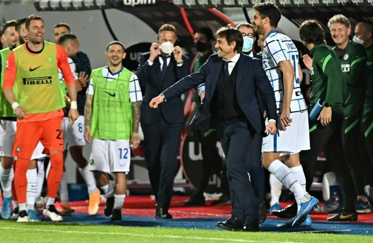 Inter Milan coach Antonio Conte has toppled a dynasty he created at Juventus