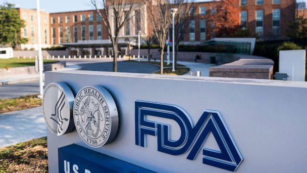 PHOTO: The United States Food and Drug Administration (FDA) headquarters is shown in Silver Spring, Md., Dec. 10, 2020. (Jim Lo Scalzo/EPA via Shutterstock)