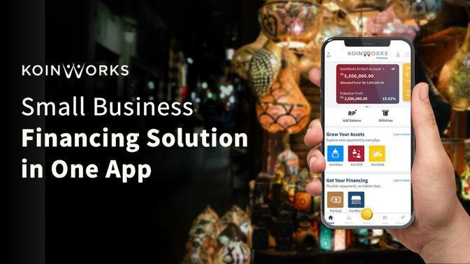 KoinWorks, Small Business Financing Solution in One App.