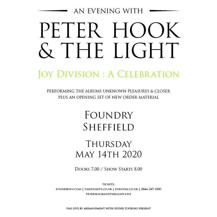Peter Hook The Light 800 x 800 Peter Hook on 40 Years Without Ian Curtis: I Wish We Had Done More