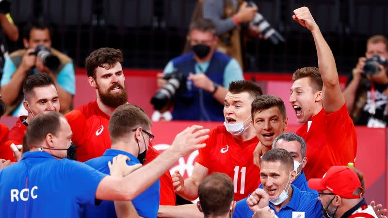 Volleyball - Men's Semifinal - Brazil v The Russian Olympic Committee
