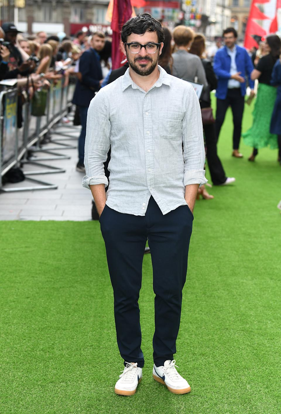 Simon Bird attending The Festival world premiere at Cineworld Leicester Square, London. Photo credit should read: Doug Peters/EMPICS