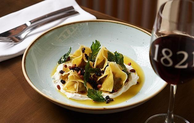 Be tried the Lamb Manti egg pasta dumplings. Photo: Supplied