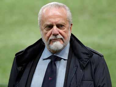 Champions League: Napoli boss Aurelio De Laurentiis calls for 'boring' European football to be replaced with 80-team competition