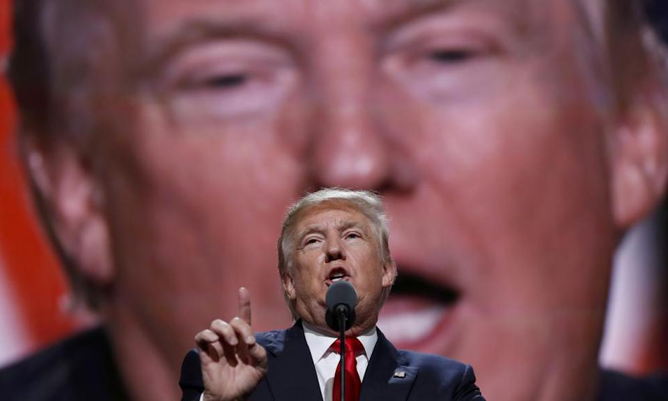 On the campaign trail in 2016, Trump called on Russia to find 30,000 emails belonging to Hilary Clinton.