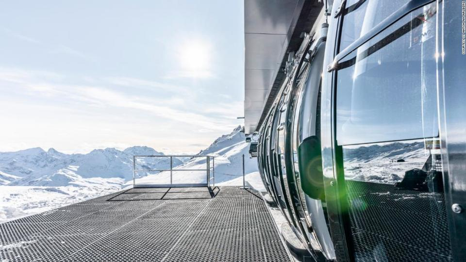 "<p>The state-of-the-art gondola can hold up to 10 people and services more of the vast mountain's terrain.</p><div class=""cnn--image__credit""><em><small>Credit: Courtesy St Anton am Arlberg / Courtesy St Anton am Arlberg</small></em></div>"