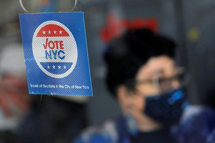 New York City's Democratic primary election ends on 22 June. (REUTERS)