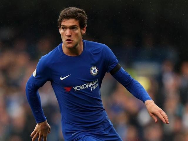 Mark Hughes welcomes FA decision to charge Chelsea's Marcos Alonso