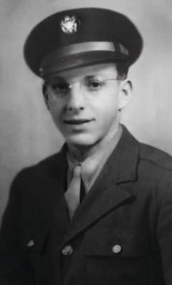 Aubrey Johnson, circa 1945. A WWII Pacific Theater Veteran, Johnson will be memorialized in the lobby of Pearl Harbor's renovated Ford Island Control Tower later this year. Johnson is being honored as part of the 75th anniversary of V-J Day, as well as his contributions to U-Haul Company, which is celebrating 75 years of moving America.
