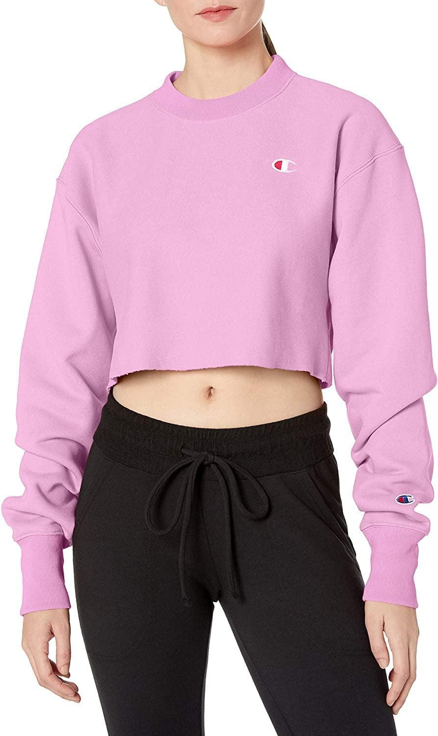 <p>If they love pink, then we have a feeling they need the <span>Champion LIFE Reverse Weave Cropped Cut Off Crew</span> ($40).</p>