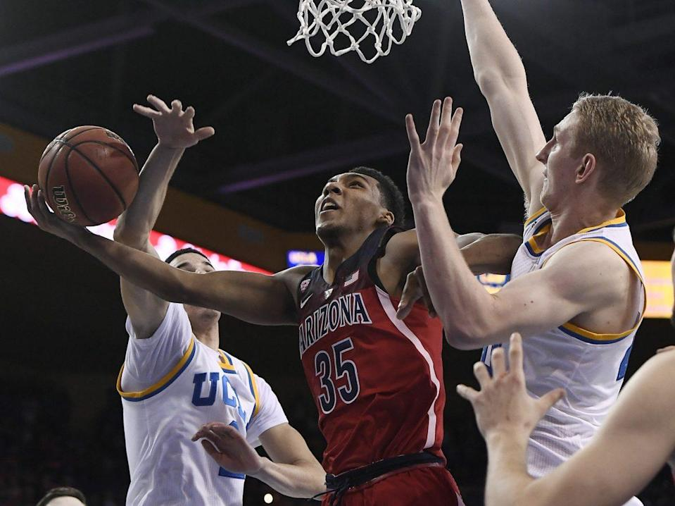 Allonzo Trier's return catapulted Arizona to the top of Yahoo's 2017-18 preseason poll. (Getty)
