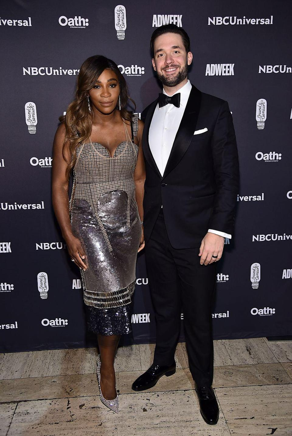"<p>Tennis champion Serena Williams and husband Alexis Ohanian <a href=""https://www.womenshealthmag.com/life/a19931901/serena-williams-newborn-daughter-photos/"" rel=""nofollow noopener"" target=""_blank"" data-ylk=""slk:welcomed daughter Alexis Olympia"" class=""link rapid-noclick-resp"">welcomed daughter Alexis Olympia</a> in September 2017. In a piece for <a href=""https://www.cnn.com/2018/02/20/opinions/protect-mother-pregnancy-williams-opinion/index.html"" rel=""nofollow noopener"" target=""_blank"" data-ylk=""slk:CNN.com"" class=""link rapid-noclick-resp"">CNN.com</a>, Serena wrote of <a href=""https://www.womenshealthmag.com/life/a19993482/serena-williams-postpartum-complications/"" rel=""nofollow noopener"" target=""_blank"" data-ylk=""slk:her traumatic birth experience"" class=""link rapid-noclick-resp"">her traumatic birth experience</a>, saying she ""almost died"" following an emergency C-section.</p>"