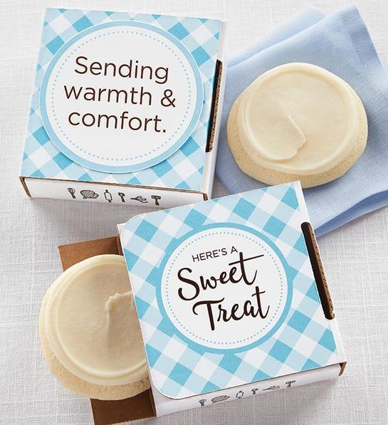"""<h2>Cheryl's Cookie Card</h2><br><strong>Best For: Grandparents<br>Budget: $5</strong><br>Sometimes the best way to stay connected from afar is with soft and sugary cookie tucked inside a cheerful gift box. <br><br><em>Shop <a href=""""https://www.cheryls.com/"""" rel=""""nofollow noopener"""" target=""""_blank"""" data-ylk=""""slk:Cheryl's Cookies"""" class=""""link rapid-noclick-resp""""><strong>Cheryl's Cookies</strong></a></em><br><br><strong>Cheryl's Cookies</strong> Cookie Card, $, available at <a href=""""https://go.skimresources.com/?id=30283X879131&url=https%3A%2F%2Fwww.cheryls.com%2Fsending-warmth-and-comfort-cookie-card-cco-spr20-230421"""" rel=""""nofollow noopener"""" target=""""_blank"""" data-ylk=""""slk:Cheryl's"""" class=""""link rapid-noclick-resp"""">Cheryl's</a>"""