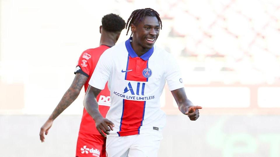 Kean, attaccante del PSG | John Berry/Getty Images