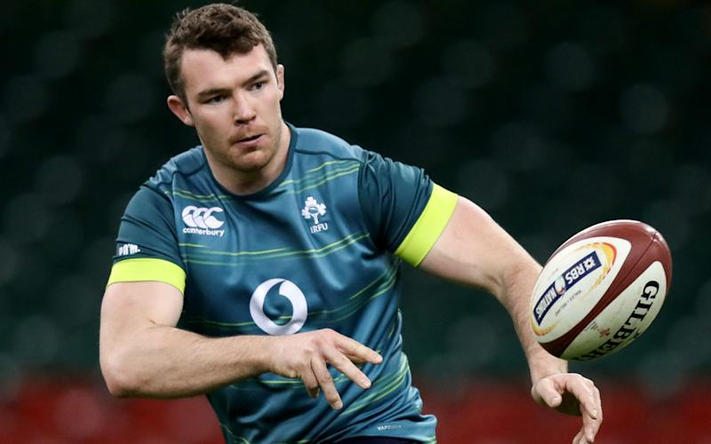 Peter O'Mahony has admitted Ireland do fear England - Copyright (c) 2017 Rex Features. No use without permission.