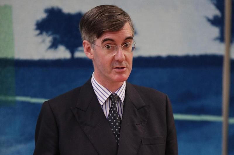 Prominent Conservative Jacob Rees-Mogg attacked the